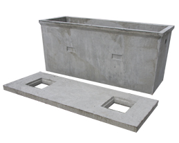 Concrete septic tanks manufactured in Co  Wexford Ireland by